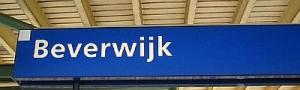 Bordje station Beverwijk